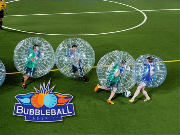 Disfruta de Bubbleball Tenerife
