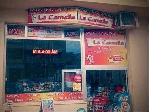 Minimarket La Camella 21h