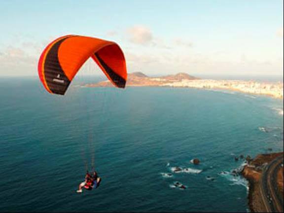 Salto en parapente Gran Canaria