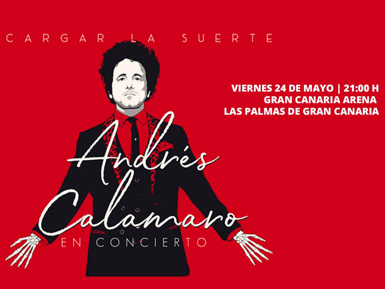 Andrés Calamaro Gran Canaria