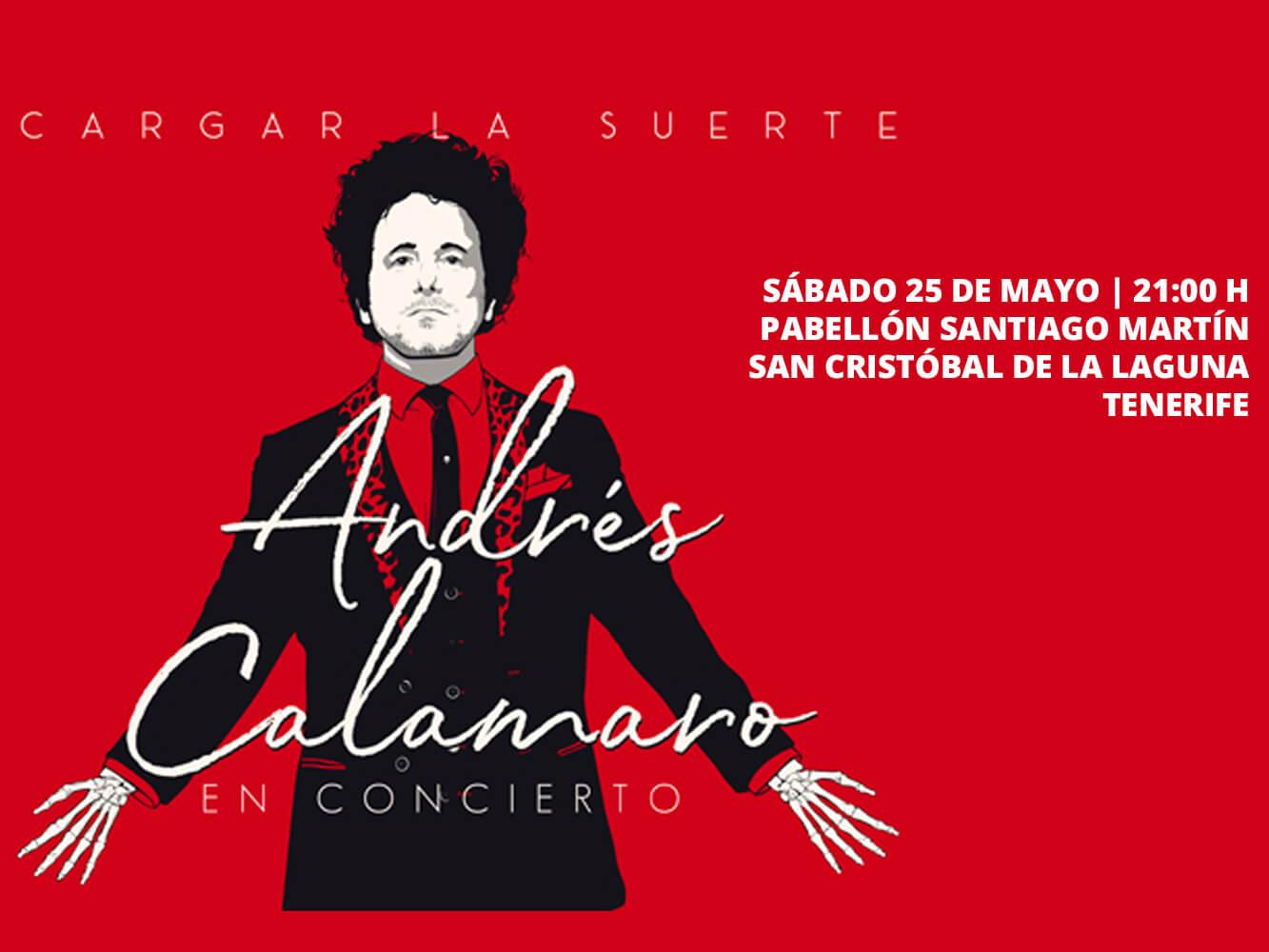 Andrés Calamaro Tenerife