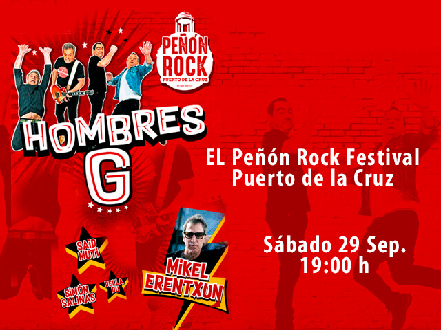 ¡¡PEÑÓN ROCK EN TENERIFE!!
