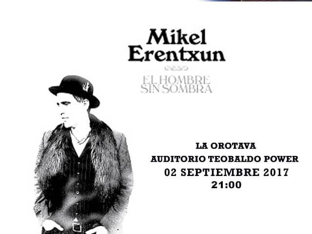Mikel Erentxun en concierto
